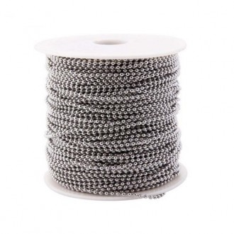 Boncuklu İp Metal 100 MT (Makara)