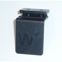 Çıkış Ağzı Plastiği Kapağı Alt Siyah/Gri