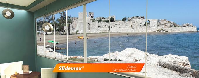 Slidemax Sürgülü Cam Balkon Sistemi